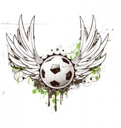 Football insignia vector
