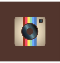 instagram icon vector image
