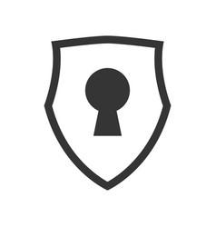 Keylock security symbol vector