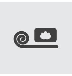 Massage icon vector image