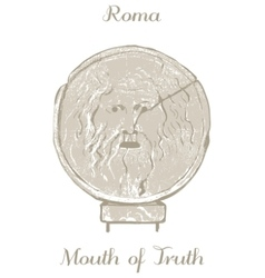 Mouth of Truth vector