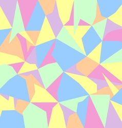 pastel spectrum abstract polygon background vector image