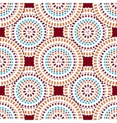 Red abstract seamless pattern vector