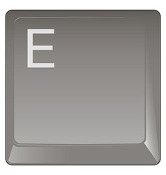 Standard Keyboard Key vector image