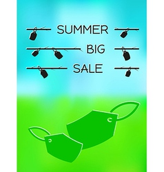 summer big sale vector image