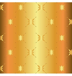 Golden Star Light Metal Surface Background Plate vector image vector image