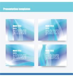 219 5 2016 presentation template vector image