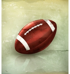 American Football old-style vector image vector image