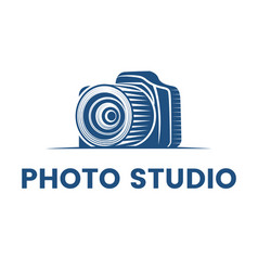 logo for photographer logo design vector image