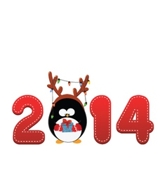 Welcome 2014 vector image vector image