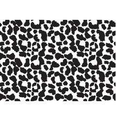 Abstract animal skin leopard seamless pattern vector