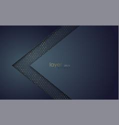 abstract design banner dark blue background vector image