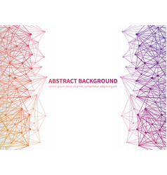 abstract geometric background template with vector image