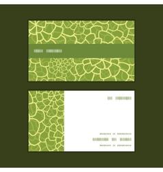 Abstract green natural texture horizontal vector