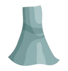 Blue dress icon cartoon style vector