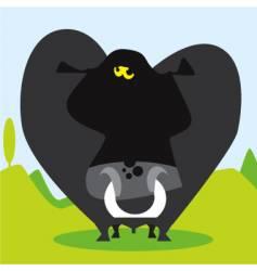 Boris the bull vector