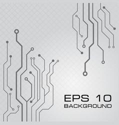 Circuit board design background vector