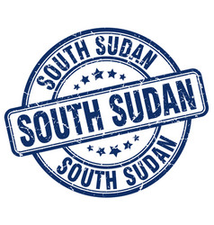 South sudan stamp vector