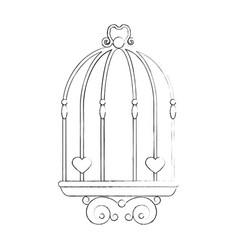 wedding decorative symbol vector image