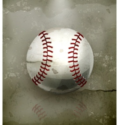 Baseball old-style vector image