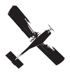 Distress airplane texture vector