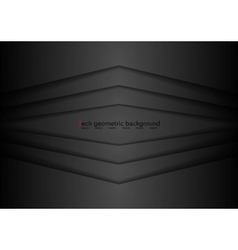 Corporate black abstract background vector image vector image