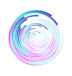 abstract background with colorful circles in vector image