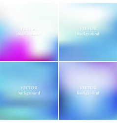 Abstract blue sea aqua summer blurred backgrounds vector