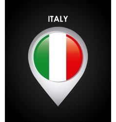 Italy flag design vector