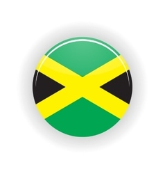Jamaica icon circle vector