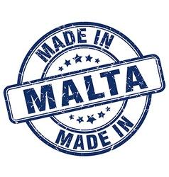 made in Malta vector image