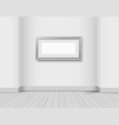 Modern bright interior vector