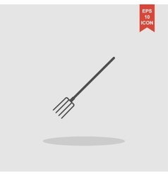 Pitchfork Icon concept for vector image