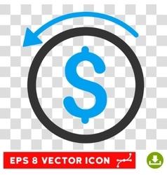 Refund Eps Icon vector