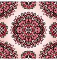 Simple pink and grey pattern vector