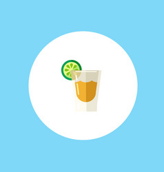 tequila shot icon sign symbol vector image