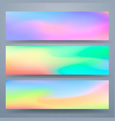 texture color cover for postcard set set vector image