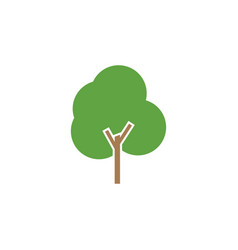 tree icon graphic design template vector image