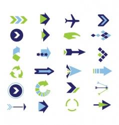 Arrow collection vector