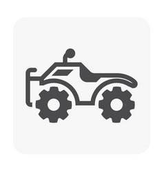 Atv offroad icon vector