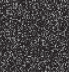 Black and white pattern BW halftone backgound vector