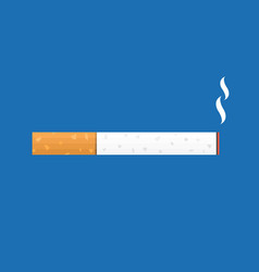 Cigarette smoking icon vector