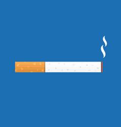 cigarette smoking icon vector image