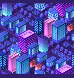 conceptual urban seamless vector image