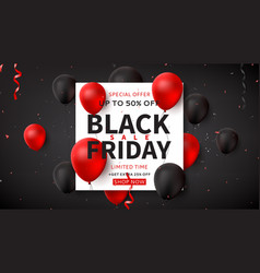 dark web banner for black friday sale vector image