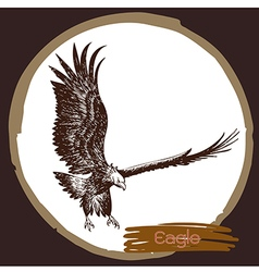 Eagle 9 vector image