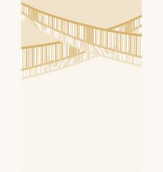 Elegance cover frame vector