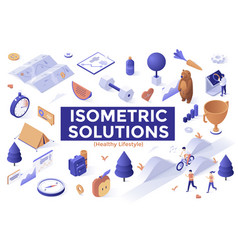 isometric vector image