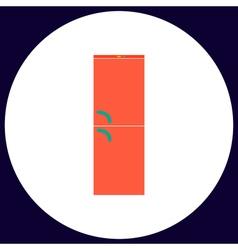 Refrigerator computer symbol vector