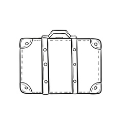 Sketch of the suitcase vector